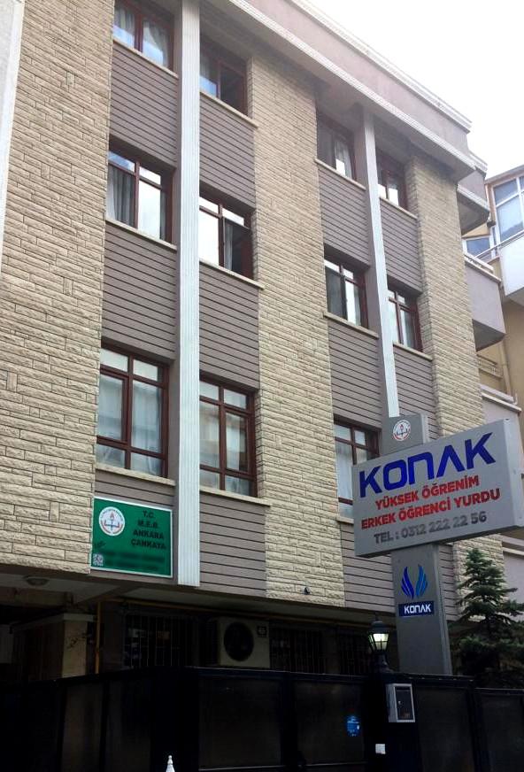 Konak Ankara Erkek Yurdu Main